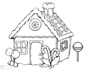 casa de galletas de jengibre navidad