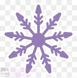 copo de nieve dibujo