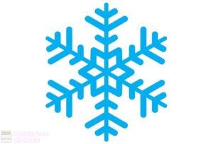 copos de nieve para dibujar faciles
