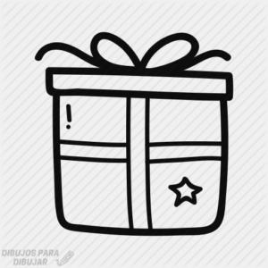 dibujos de regalos para colorear