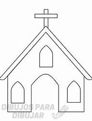 dibujos iglesias para niños