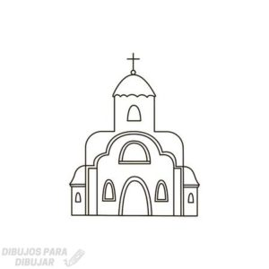 iglesia dibujo