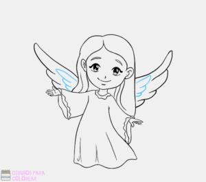 imagenes de angeles hermosos