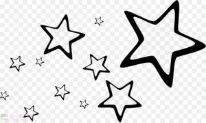imagenes de estrellas para colorear
