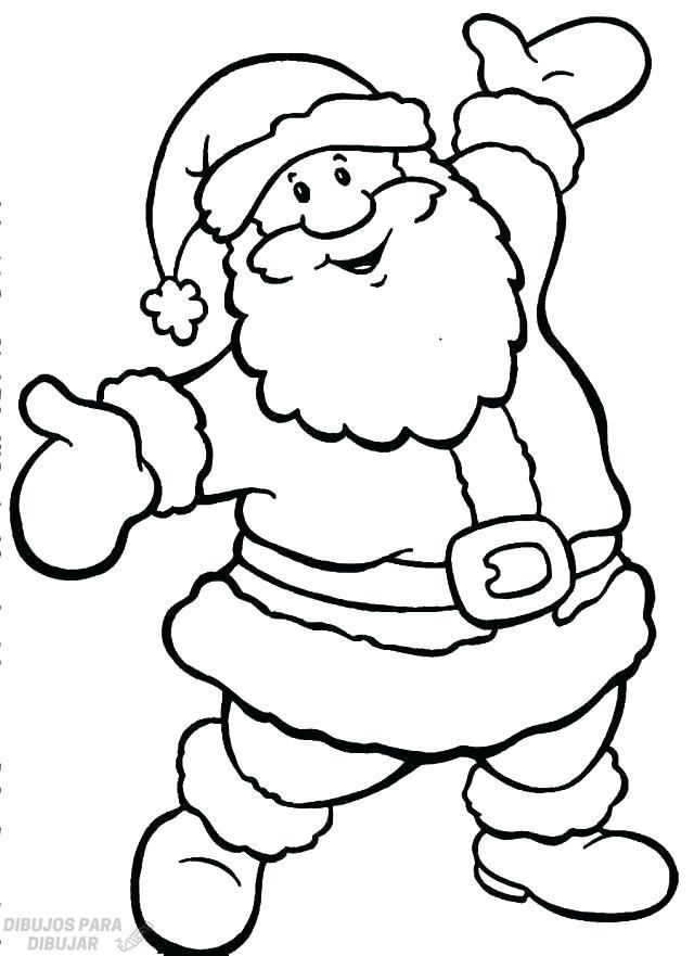 ᐈ Dibujos De Papa Noel Top 30 Para Esta Navidad