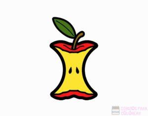 como pintar una manzana