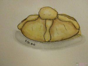 dibujo pan de muerto