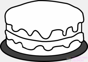 dibujos de pasteles para colorear