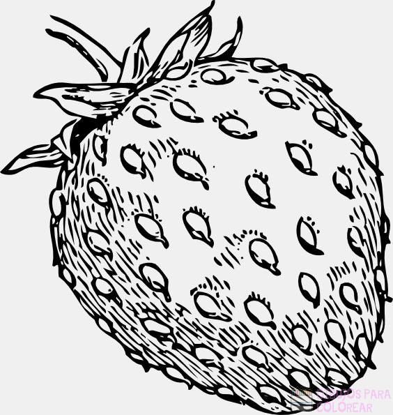 fresas dibujos animados