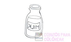 imagenes animadas de leche