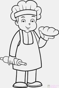 imagenes de panaderos animados