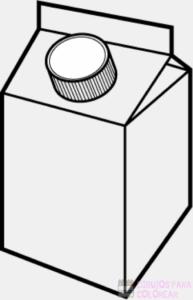leche colorear