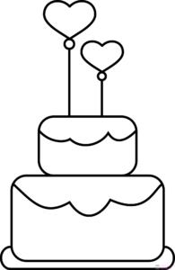 pastelitos para colorear