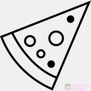 pizza dibujos imagenes