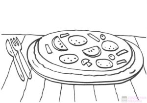 pizzas animadas dibujos