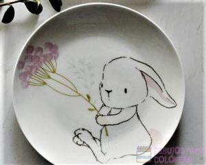 platos para pintar