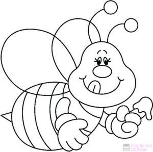 abeja caricatura