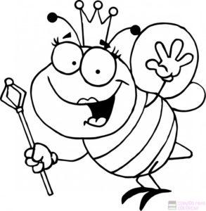 abejas para dibujar