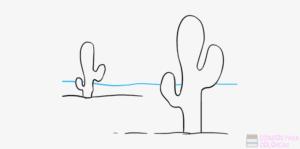 cactus animados