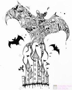 castillo dibujo