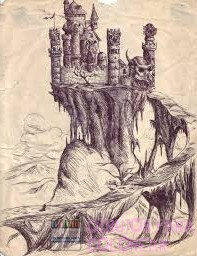 castillos faciles de dibujar