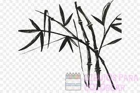 como dibujar un bambu