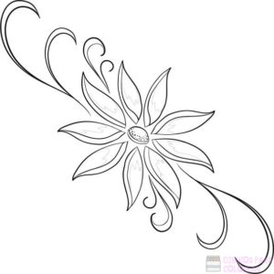 como hacer dibujos de flores