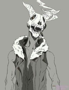demonio dibujo