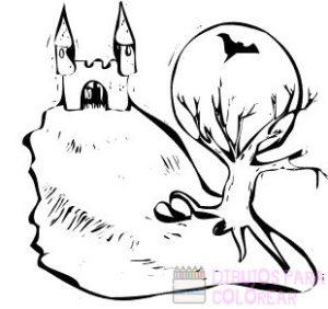 dibujos de castillos a lapiz