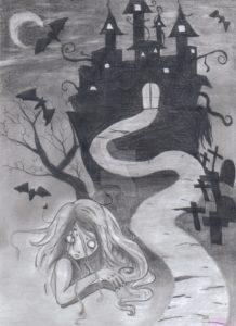 dibujos de castillos para dibujar