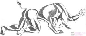 dibujos de el minotauro