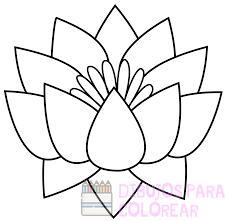 dibujos de flores bonitas