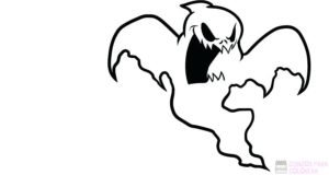 fantasmas caricatura