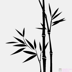figuras de bambu