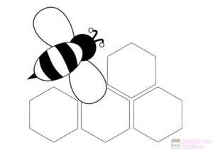 imagenes de abejas para dibujar