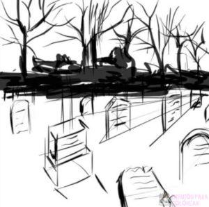 imagenes de el cementerio