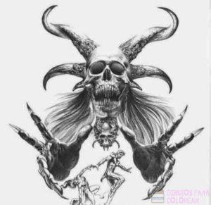 imagenes diabolicas para dibujar