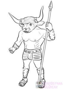 mito de minotauro