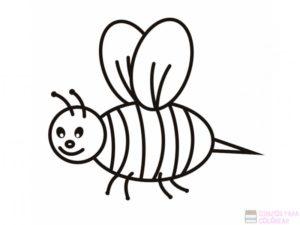 panal de abejas para colorear