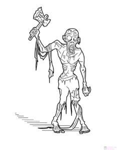 plants vs zombies para dibujar