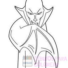 vampiro dibujo