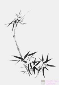 vinilos cañas de bambu