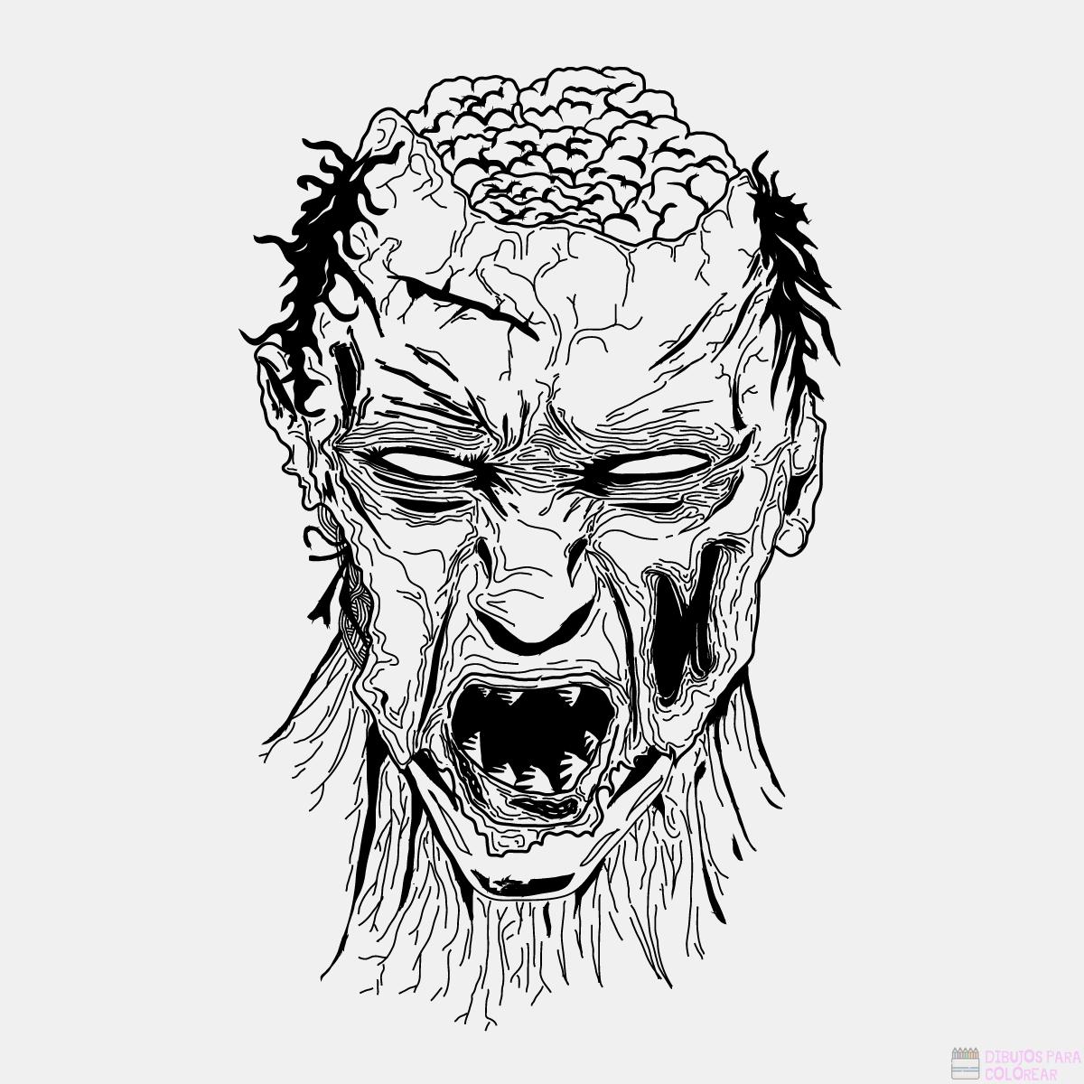 zombies para pintar