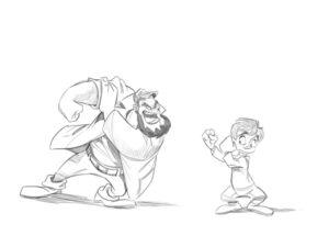 dibujos personajes disney